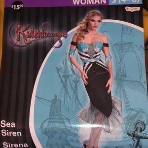New mermaid Sea Siren Halloween costume